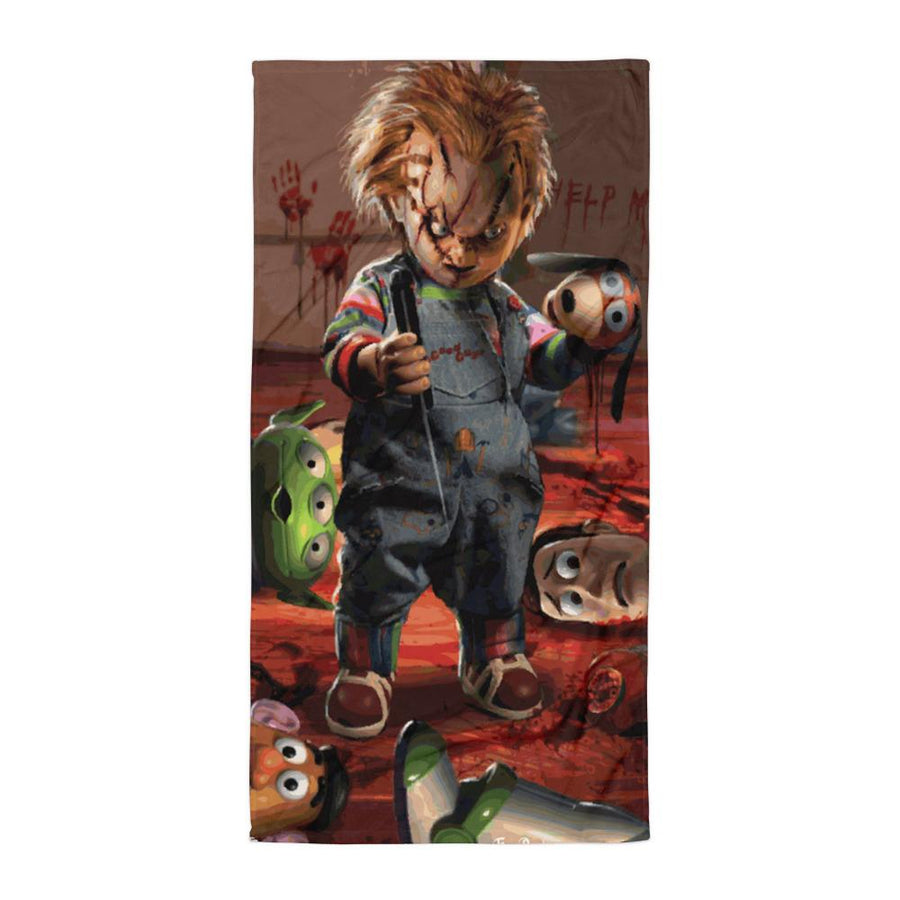 TOY STORY FULL COLOR SUBLIMATED TOWEL - Deadcelebritee | Subculture Tees