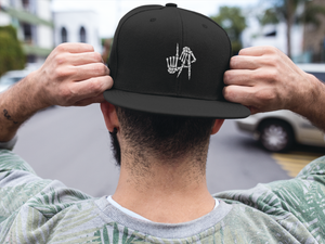 L.A. EMBROIDERED 6 PANEL CAP - Deadcelebritee | Subculture Tees