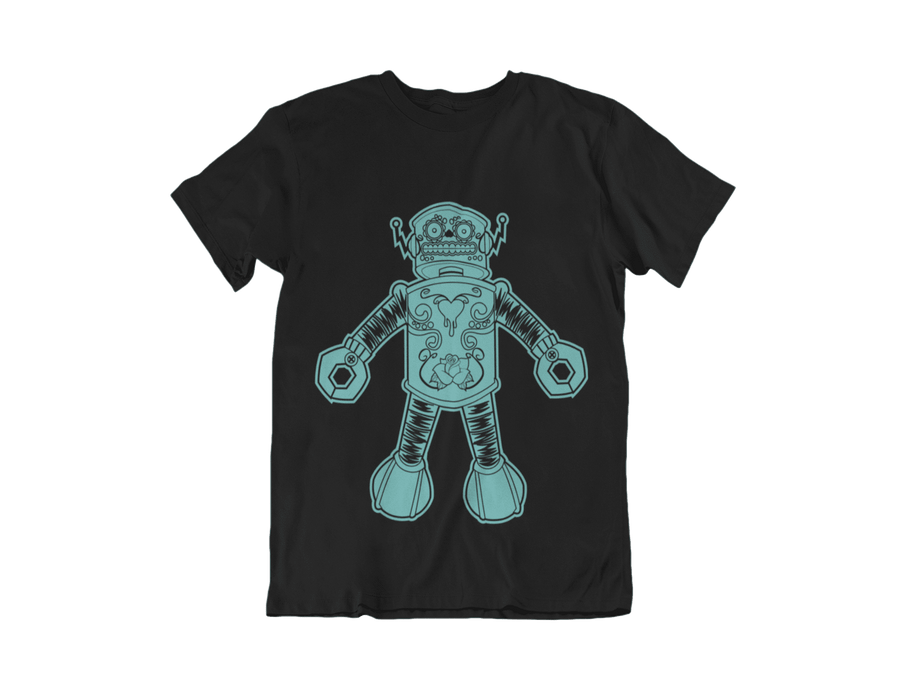 WOMEN'S FLLOYD THE DROID SHORT SLEEVE TEE - Deadcelebritee | Subculture Tees