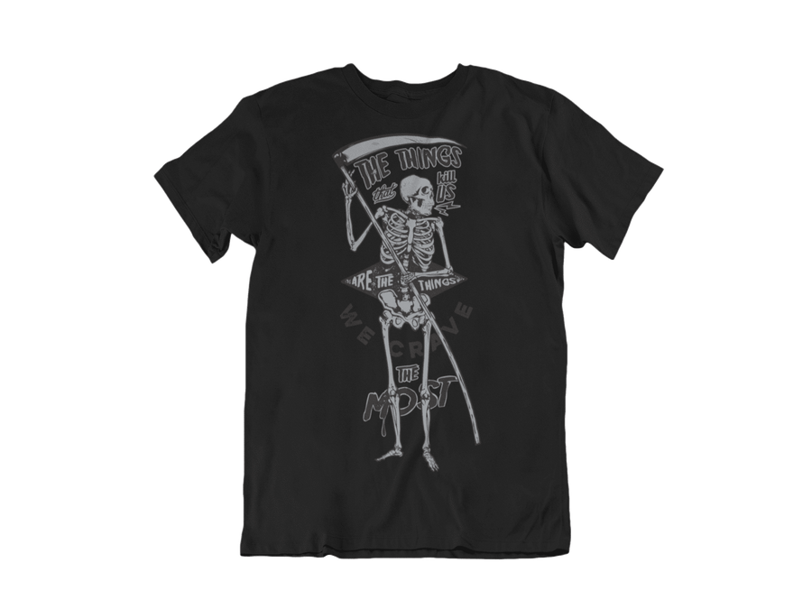 MEN'S KILLER CRAVINGS SHORT SLEEVE TEE - Deadcelebritee | Subculture Tees