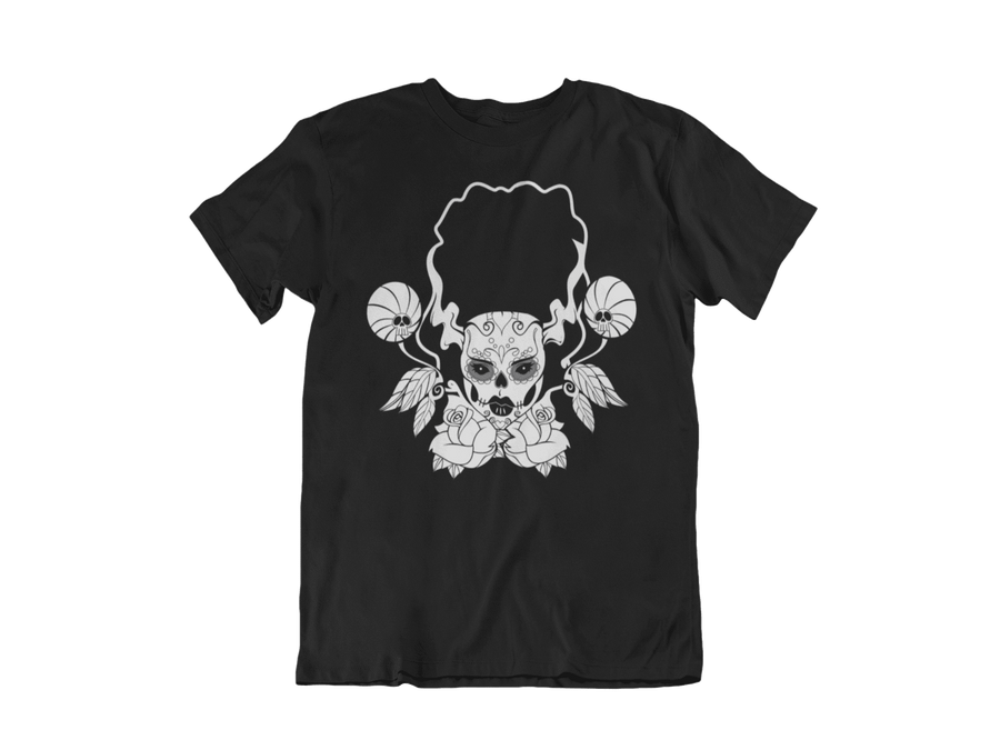 WOMEN'S THE BRIDE SHORT SLEEVE TEE - Deadcelebritee | Subculture Tees