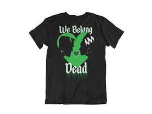 MEN'S WE BELONG DEAD SHORT SLEEVE TEE - Deadcelebritee | Subculture Tees