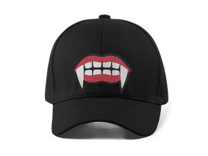 THE BITE EMBROIDERED 6 PANEL CAP - Deadcelebritee | Subculture Tees