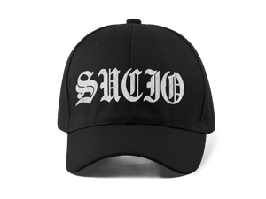 SUCIO EMBROIDERED 6 PANEL CAP - Deadcelebritee | Subculture Tees