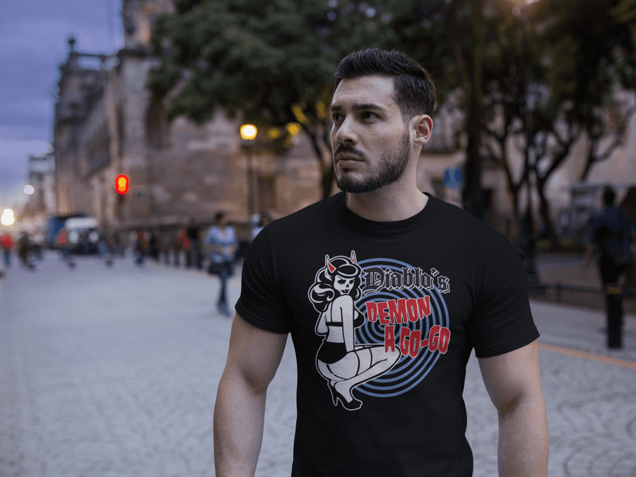 MEN'S DIABLO'S SHORT SLEEVE TEE - Deadcelebritee | Subculture Tees