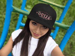OUIJA EMBROIDERED 6 PANEL CAP - Deadcelebritee | Subculture Tees