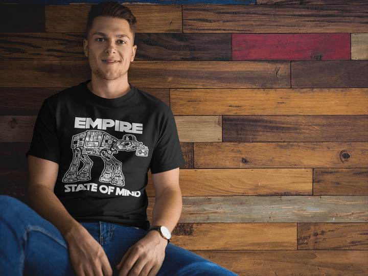 MEN'S EMPIRE STATE SHORT SLEEVE TEE - Deadcelebritee | Subculture Tees