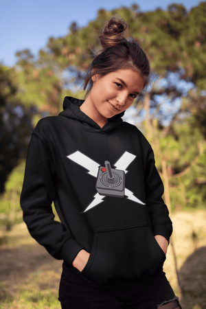 UNISEX CONTROLLER PULLOVER HOODIE - Deadcelebritee | Subculture Tees