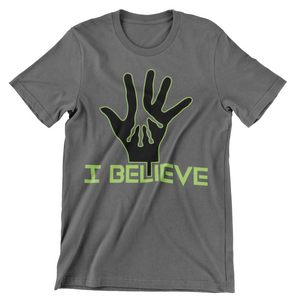 WOMEN'S I BELIEVE HANDS SHORT SLEEVE TEE