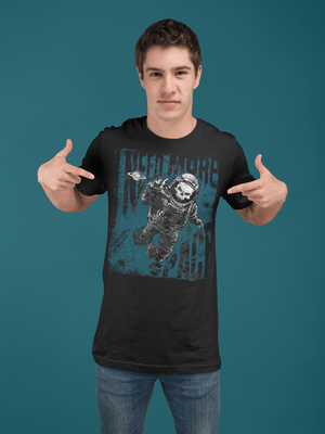 MEN'S NEED SPACE SHORT SLEEVE TEE - Deadcelebritee | Subculture Tees