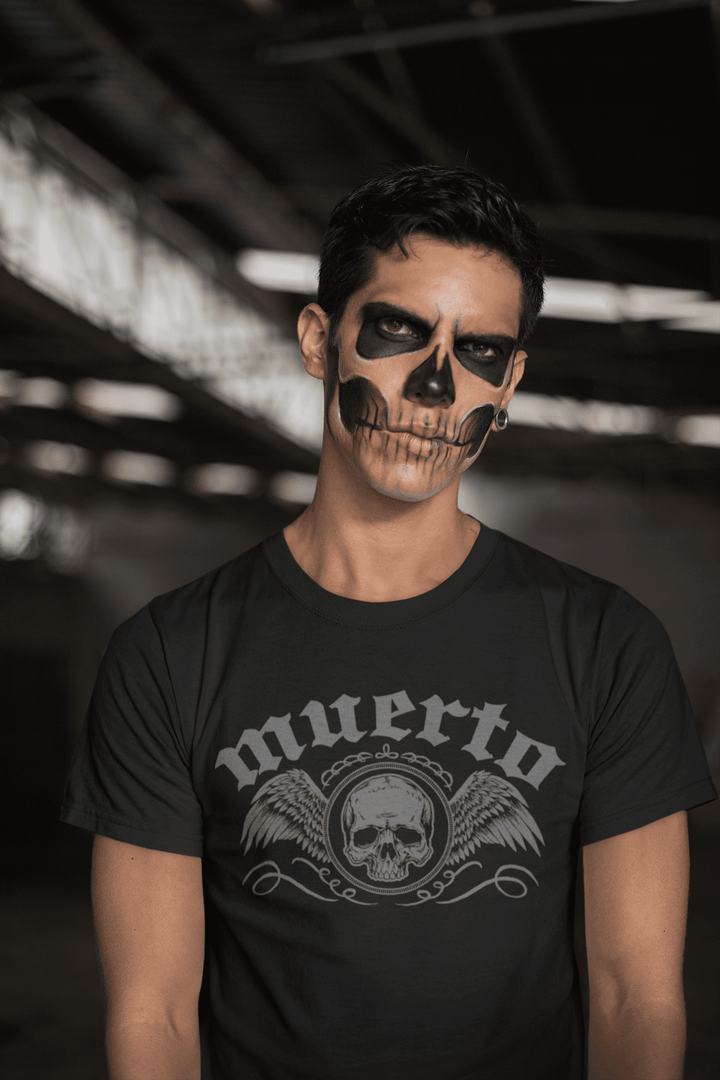 MEN'S MUERTO SHORT SLEEVE TEE - Deadcelebritee | Subculture Tees