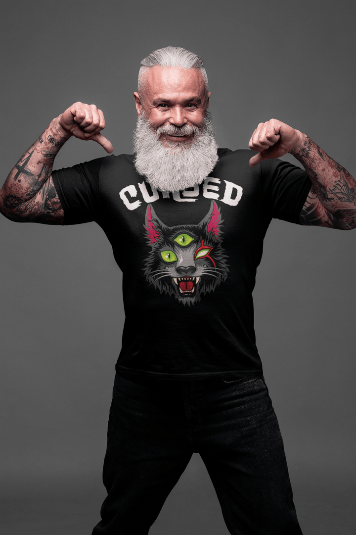 MEN'S CURSED SHORT SLEEVE TEE - Deadcelebritee | Subculture Tees