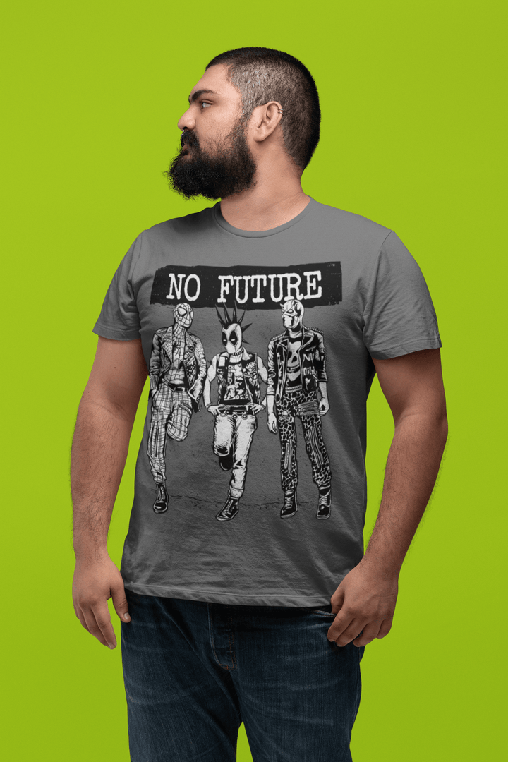 MEN'S NO FUTURE SHORT SLEEVE TEE - Deadcelebritee | Subculture Tees