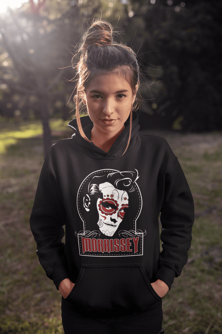 UNISEX SUGAR-MOZ PULLOVER HOODIE - Deadcelebritee | Subculture Tees