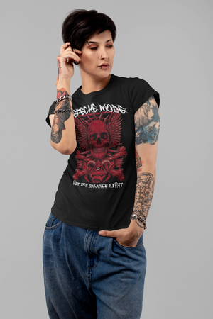 WOMEN'S SOFT CORE - DEPECHE MODE SHORT SLEEVE TEE