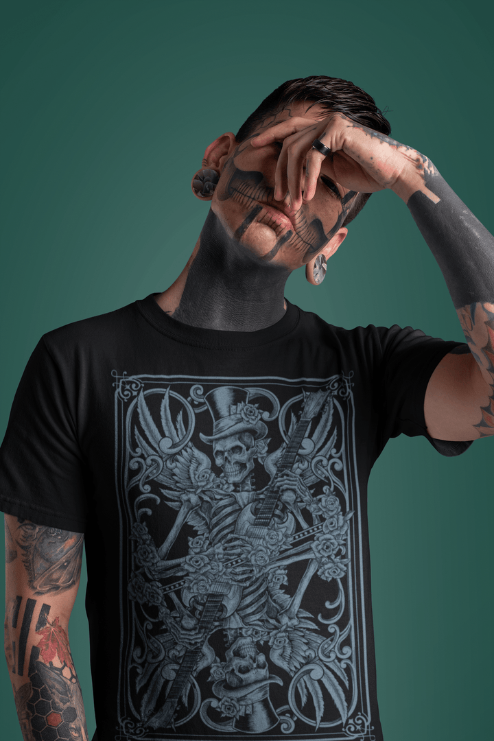 MEN'S CALLING CARD SHORT SLEEVE TEE - Deadcelebritee | Subculture Tees
