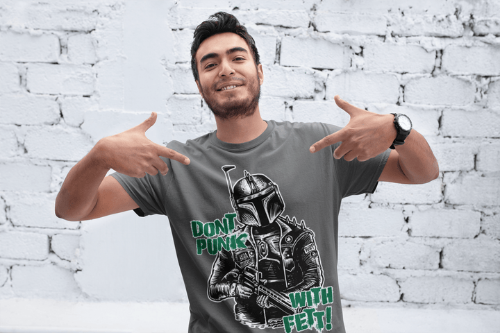 MEN'S PUNK FETT SHORT SLEEVE TEE - Deadcelebritee | Subculture Tees