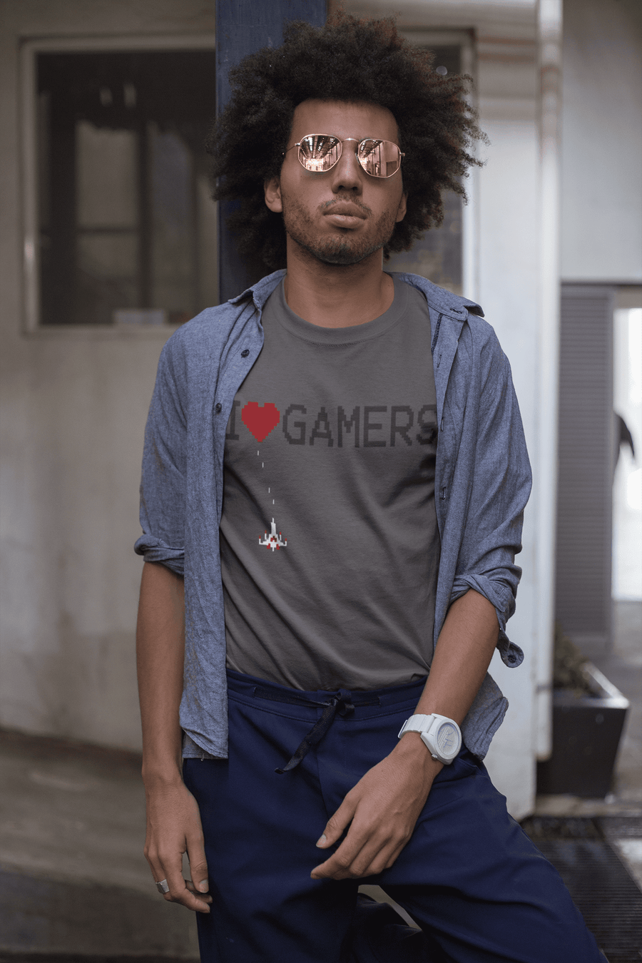 MEN'S I HEART GAMERS SHORT SLEEVE TEE - Deadcelebritee | Subculture Tees