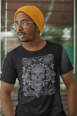 MEN'S ALL SMILES SHORT SLEEVE TEE - Deadcelebritee | Subculture Tees