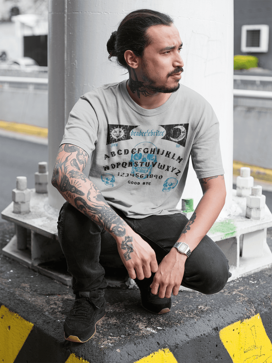 MEN'S OUIJA SHORT SLEEVE TEE - Deadcelebritee | Subculture Tees