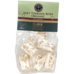 ADI Apicoltura Organic Soft Torroncini Bites with Almonds 5.3 oz