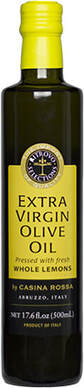 Casina Rossa Extra Virgin Olive Oil Pressed with Sicilian Lemon 500 ml