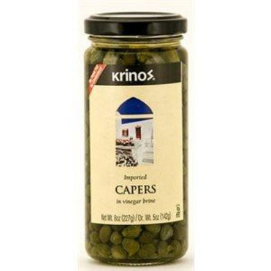 Krinos Capers 8 oz