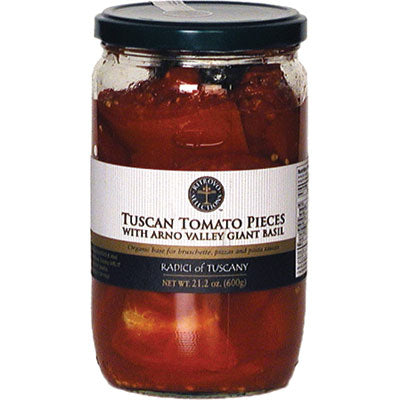 Radici of Tuscany Tomato Pieces with Tuscan Giant Basil 21.2 oz