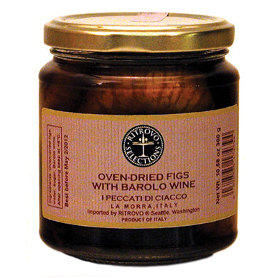 I Peccati di Ciacco Oven-dried Figs with Barolo 11 oz