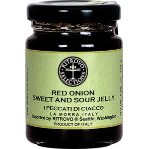 I Peccati di Ciacco Tropea Onion Balsamic Vinegar Jelly 4 oz