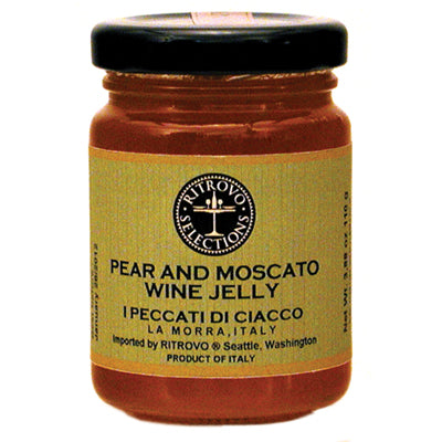 I Peccati di Ciacco Pear Moscato Wine Jelly 4 oz
