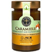 ADI Caramiele Natural Honey and Hazelnut Spread 8.8 oz