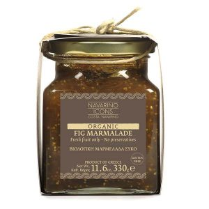 Navarino Icons Organic Fig Marmalade 11.6 oz