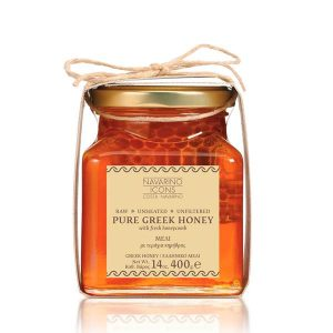 Navarino Icons Pure Greek Honey 14 oz