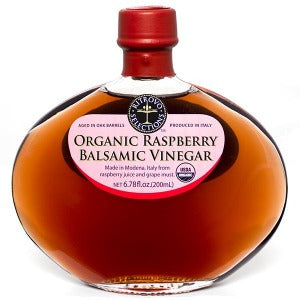 Organic Raspberry Balsamic Vinegar 200 ml