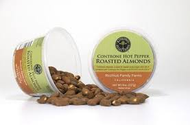 Controne Hot Pepper Spicy Roasted Almonds 8 oz