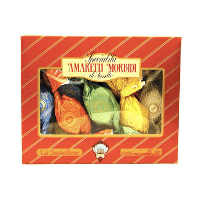 La Sassellese Soft Amaretti Cookies 6 oz box