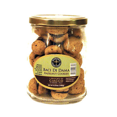 Ciacco Baci di Dama Chocolate Filled Hazelnut Cookies 7 oz