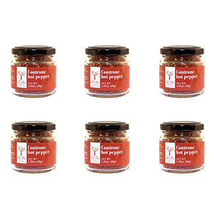 Michele Ferrante Hand Ground Controne Hot Pepper 6 Pack