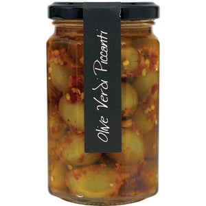Casina Rossa  Snacking Olives with Hot Pepper 10 oz