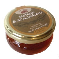 Casina Rossa Saffron & Honey Acacia Honey with Saffron Threads 3.5 oz