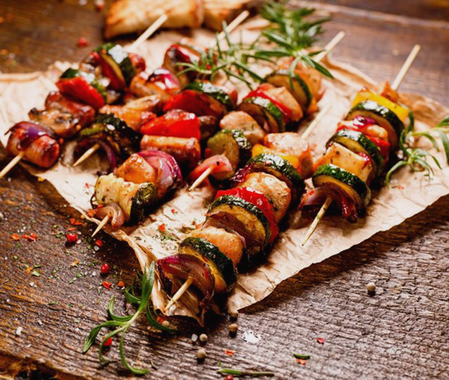 BROCHETAS DE POLLO ECO MARINADO