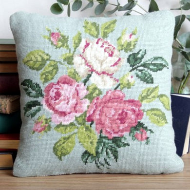 Rose Spray (Green) Tapestry Kit