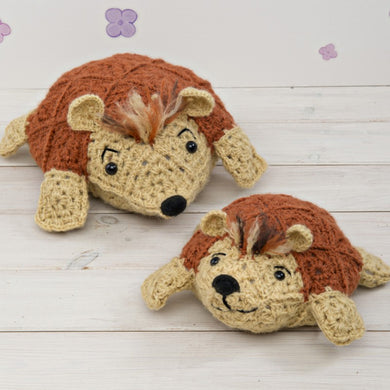 Sid & Spike Hedgehogs Crochet Kit