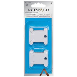 Thread Bobbins - Paper (50) - Milward