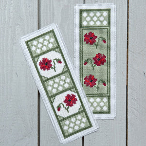 Poppy Dawn Bookmark Cross Stitch Kit