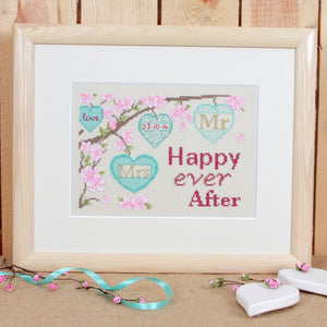 Happy Ever After Cross Stitch Kit