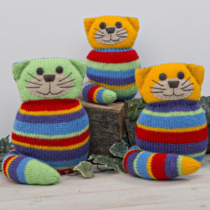 Crazy Cats Knitting Kit