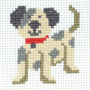 Toby Dog First Cross Stitch Kit