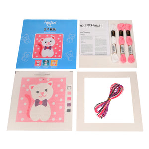 Cute Kitty First Tapestry Kit